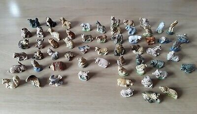 Collection Of 60 Wade Whimsies From Early 70's. Very Good Condition.  • 48£