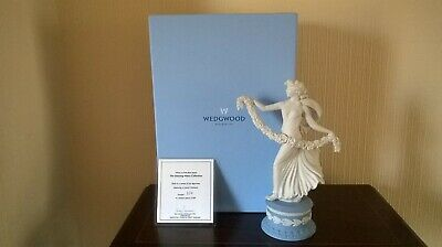 Wedgwood Ltd Edition Of 500 ~ Dancing Hours Figurine With Laurel Garland No 6 • 240£