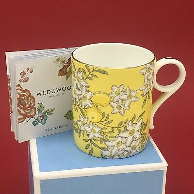 Wedgwood Tea Garden Lemon & Ginger 200ml Tea Mug ~ New Boxed 1st • 24.99£