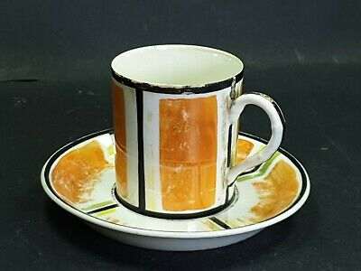 A E Gray Gloria Lustre Coffee Cup With Saucer • 15£