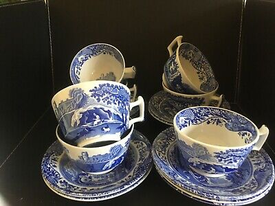 A Selection Of Spode 7 Cups And 9 Saucers • 22£