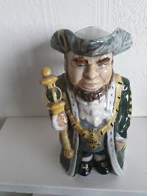 Rare Vintage Staffordshire LORD MAYOR TOBY JUG By Roy Kirkham • 7£