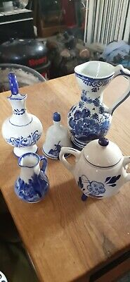 Old Blue And White Pottery • 3.99£