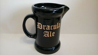 Very Rare Dracula Ale Jug Withernsea Eastgate Pottery England - Halloween!! • 20£