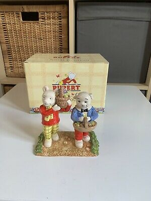 Royal Doulton Rupert Where Did You Get Such Fruit,rare Boxed Figure • 69.99£