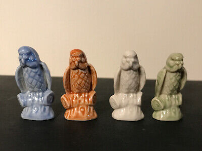 Rare Wade – Budgie Whimsies 2003 Limited Edition Of 500 Sets For Wade Fest • 19.99£