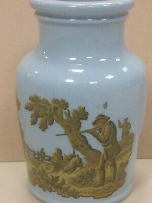 Small Pottery Vase 1850s. Has Seen Better Days! • 2£