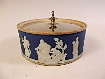 MID 19th CENTURY SILVER PLATE WEDGWOOD PICKLE DISH • 5.50£