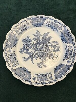 "Ridgway Of Staffordshire ""Windsor"" Blue Plate • 10.50£"