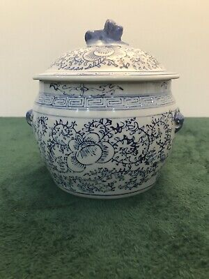 Large Chinese Style Bowl With Lid • 15.50£