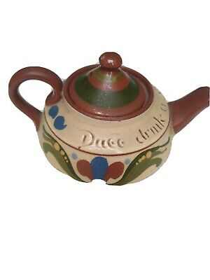 Old Tea Pot Duce Drink A Cup A Tay • 5£