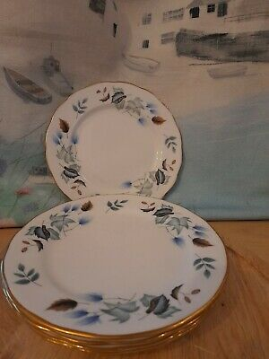 5x Colclough Side Plates - Approx 6 Inch - Excellent Condition • 1£