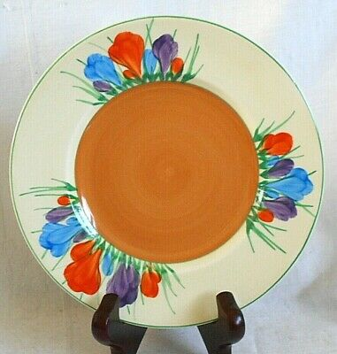 Clarice Cliff Crocus Pattern Side Plate • 25£