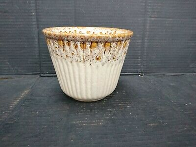 Fosters Pottery Planter Blonde Honeycomb Vgc • 15£