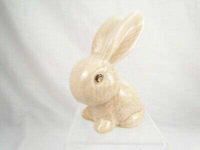 Vintage Sylvac Snub Nose Rabbit Beige No 990 Bunny 13cm/ 5 Inches Tall • 15.99£