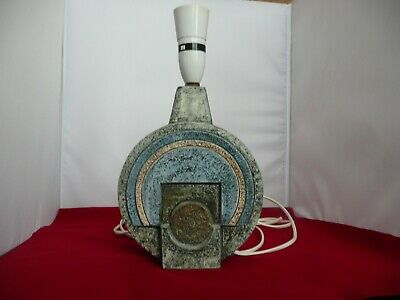 Vintage Troika Pottery Lamp Base Signed E W - Eleanor Winning 1974/75 • 235£