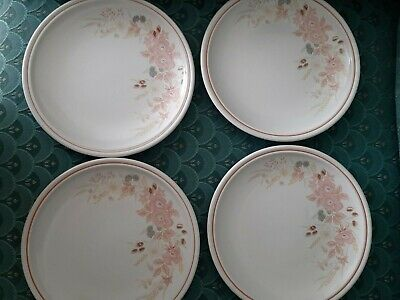 Boots Hedge Rose Small Dinner / Salad Plates X 4 • 6£