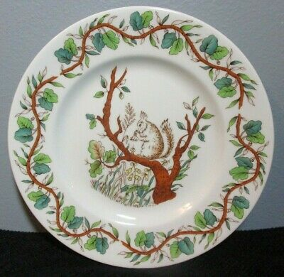 Tiffany & Co.  SQUIRREL  3-Pc CHILD SET Bowl, Dish, & Cup ~ Made By Johnson Bros • 65.39£