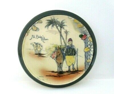 Rare Royal Doulton Seriesware Teapot Stand - Arabian Nights D3420 - Excellent !! • 85£