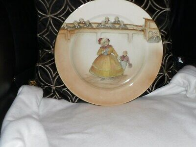 Rare, Royal Doulton Series Ware Rack Plate, Mrs Bardell 10 1/4 Inch. Reduced. • 38£