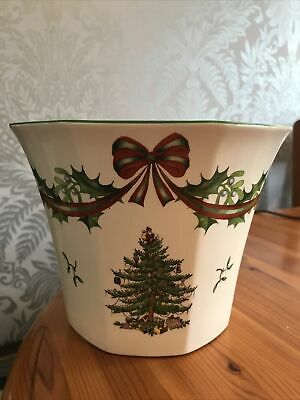 Spode Large Planter Christmas Tree 65th Anniversary 1938-2003 Limited Edition • 5.50£