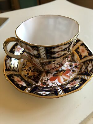 Royal Crown Derby Imari Pattern 2451 Cup And Saucer • 7.20£