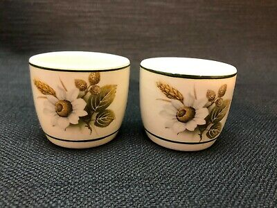 Pair Of Vintage Brixham Pottery Egg Cups • 7.99£