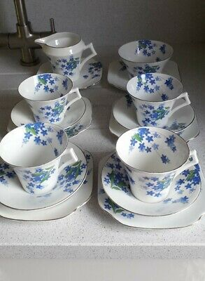 Colclough Art Deco Tea Set • 35£