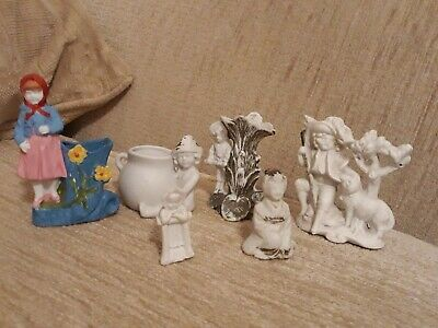 6 Items Of Parian Ware  • 2£