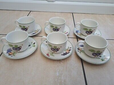 Marks & Spencer Ashberry 6 Cups & Saucers  • 12.99£