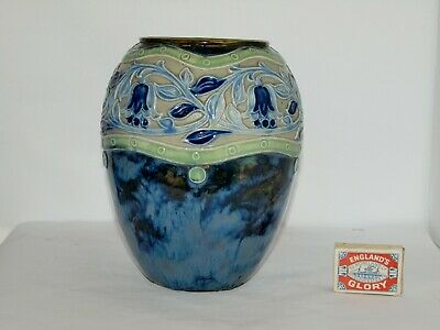 Large Royal Doulton Vase ; By Bessie Newbery • 70£