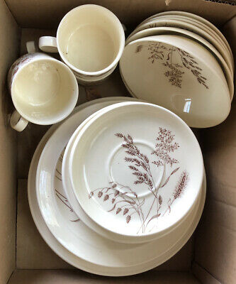 Vintage Windswept Crockery, Cups,saucers, Side & Dinner Plates J&G Meakin • 4.99£