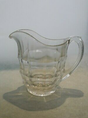 Lovely Vintage Art Deco Small Jacobean Glass Milk/ Cream Jug • 3.99£