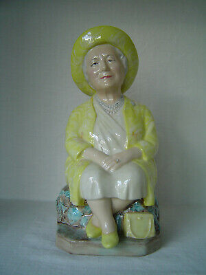 Kevin Francis Ceramics Toby Jug - The Queen Mother's 100th Birthday - No 815 • 30£