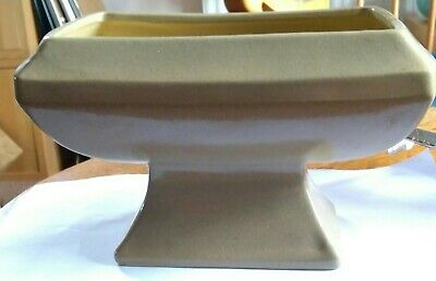 Art Deco Honiton Pottery Footed Centrepiece Bowl • 3.99£