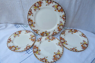 Royal Albert Lenora Plates • 8.50£