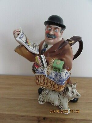 Ringtons Novelty Tea Pot Titled Maurice Delivery Man Ltd Edition By Cardew • 40£