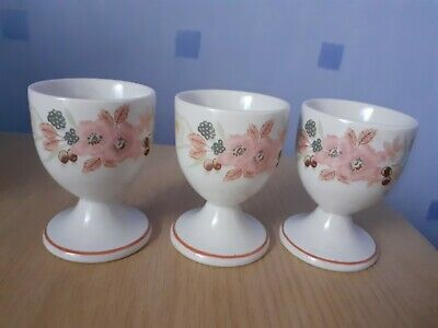 Boots Hedge Rose Egg Cups X3 • 2£