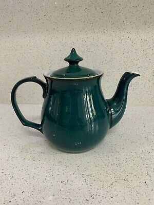 Denby Greenwich Teapot Tea Pot - Used, Very Good Condition • 6.30£