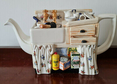 Paul Cardew Kitchen Sink Large Teapot Perfect Condition • 85£