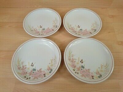 Vintage Boots Hedge Rose Set Of 4 Dinner Tea Plates 8.5  • 14.99£