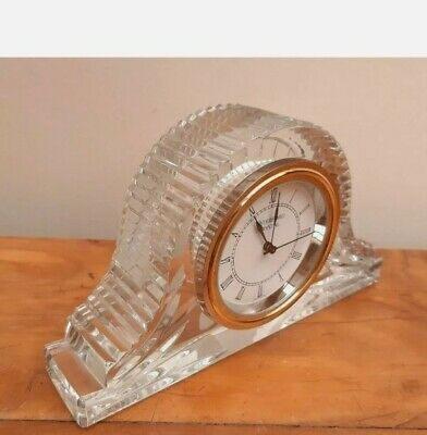 Waterford Crystal Mantel Clock – 10cms Tall • 25£