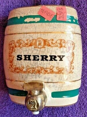 Vintage Wade Royal Victoria Ceramic Pottery Sherry Decanter Barrel With Tap • 3.50£