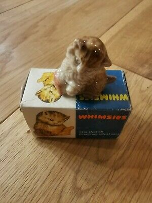 Wade Whimsie Number 4 Boxed Kitten • 0.99£