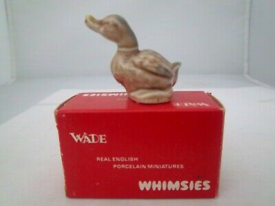 WADE DUCK WITH RED BOX No 6  ENGLISH WHIMSIES (REFS 229/69) • 2.49£