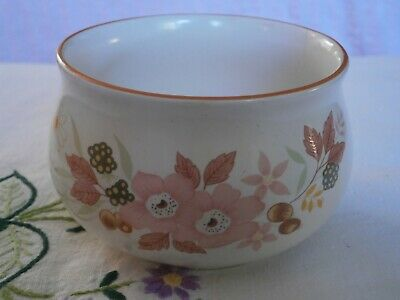 Boots Hedge Rose Pottery Sugar Bowl C.1980 • 1.99£