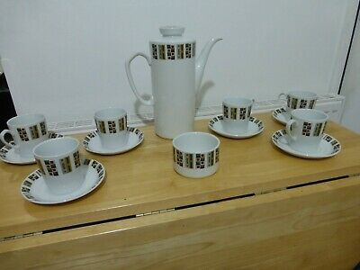 Alfred Meakin Coffee Set 1960's • 0.99£