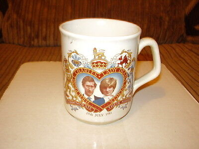 Prince Charles & Lady Diana Wedding Commemorative Mug/cup • 0.99£