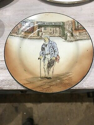 Royal Doulton Dickensware Plate (old Peggoty) • 8.80£