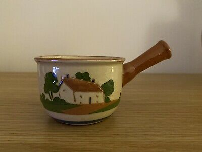 Watcombe Torquay Pottery Small Saucepan 1918-1927 • 3£
